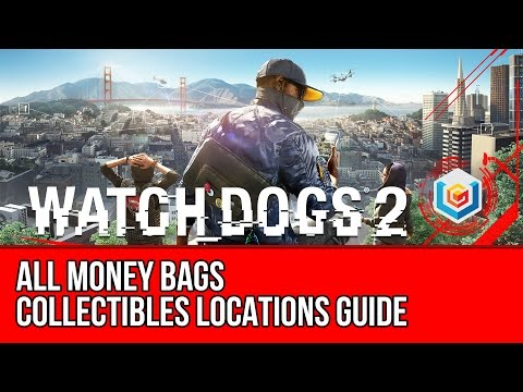 Watch Dogs 2 All Money Bags Collectibles Locations Guide