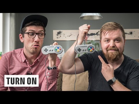 SNES Classic Mini – Alex & Jens daddeln mit der Kultkonsole – TURN ON Live