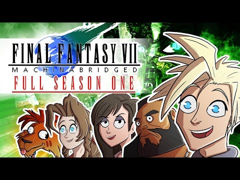 Final Fantasy VII: Machinabridged (FF7:MA) – COMPLETE Season 1 - TeamFourStar