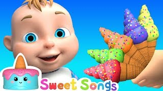 Ice Cream Song | Nursery Rhymes & Songs for Babies from Sweet Songs