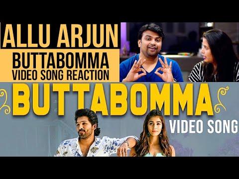 buttabomma-video-song-|-reaction-in-hindi-|-ala-vaikunthapurramuloo-|-allu-arjun-|-pooja-hegde