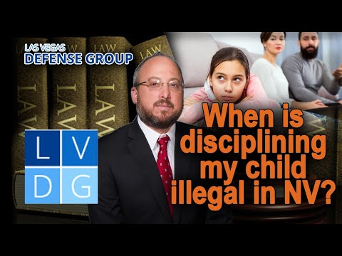 """When does corporal punishment = """"child abuse"""" in Nevada?"""