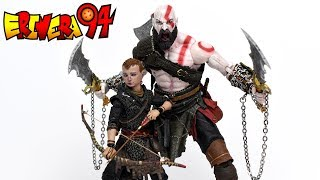 NECA God of War KRATOS AND ATREUS Ultimate 2 Pack Action Figure Review