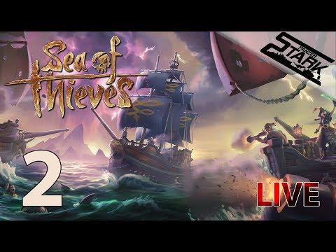 Sea Of Thieves - 2.Rész (Hajóra zsiványok!) - Stark LIVE