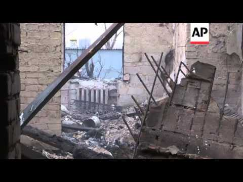 Rebels in the separatist stronghold of Donetsk, Ukraine said Tuesday that artillery fire has killed