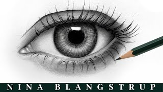 How to Draw a Realistic Eye - Step by Step Eye Tutorial - You can draw this!