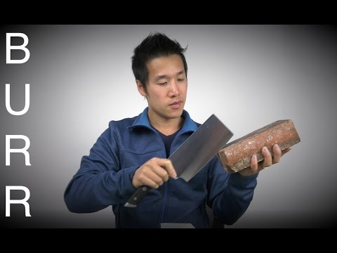 How To Sharpen Cleaver Knife