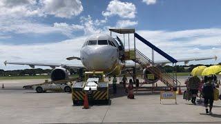 CEBU PACIFIC   PUERTO PRINCESA-CLARK   ECONOMY CLASS   AIRBUS A320-200  RP-C3264
