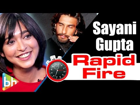 Sayani Gupta's SIZZLING & SPICY Rapid Fire On Shah Rukh, Ranbir, Ranveer, Threesomes