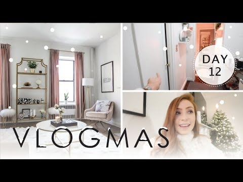 FULL TOUR OF MY NYC APARTMENT + THE ROOM I'VE NEVER SHOWN! | VLOGMAS 2017 Day 12