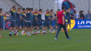 Romania training at the Stade de France - 09.06