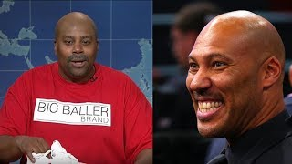 connectYoutube - Kenan Thompson Does a PERFECT Impersonation of LaVar Ball on Saturday Night Live Weekend Update