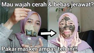 Masker Ampas Teh Untuk Mencerahkan Wajah Dan Menghilangkan Jerawat Serta Manfaat Ampas Teh Bekas