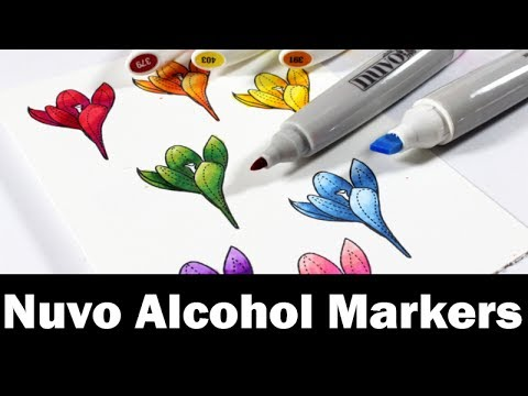 Product Review | Nuvo Creative Pens - Alcohol markers