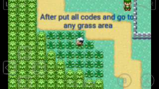 pokemon emerald all cheat codes and tutorial how to enter cheat codes