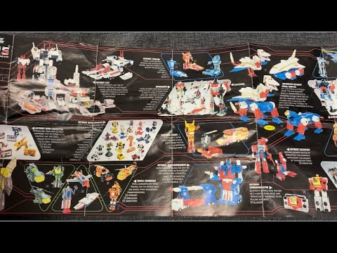 Transformers G1 Vintage 1986 Toy Catalogue Checklist Flyer by Toys Are Russ
