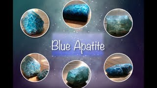 Blue Apatite - Lets Talk Stones
