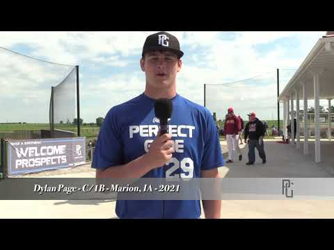 Dylan Page - C/1B - Marion, IA - 2021