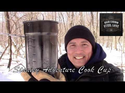 Stanley Adventure Cook Set/Cup And Mods - My Absolute Favorite Cook Pot - HighCarbonSteel Love