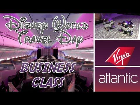 TRAVEL DAY - Walt Disney World   2017 (part 2) - VIRGIN UPPER CLASS REVIEW