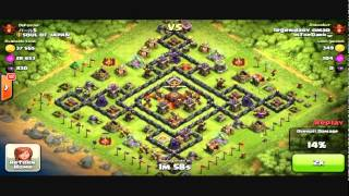 Clash of Clans - Balloons/Minions 3600+ Champion league