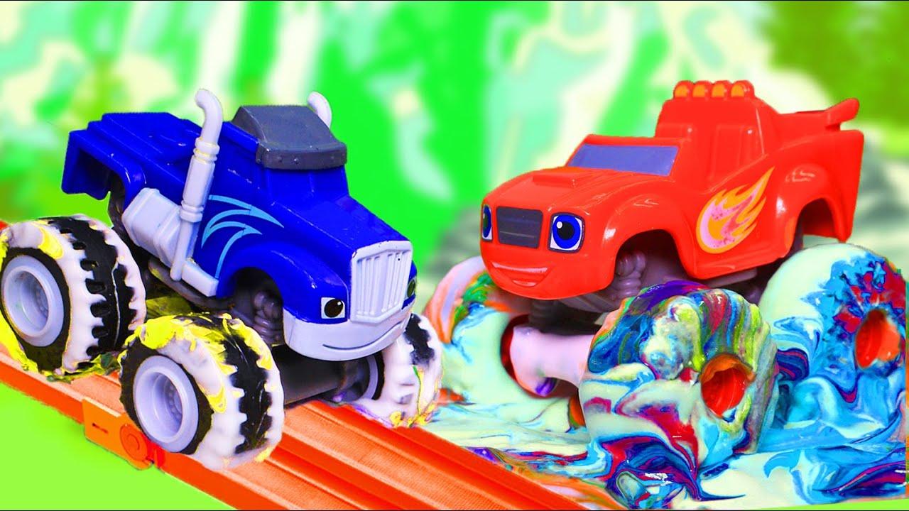 Вспыш и чудо-машинки - Мультик про машинки игрушки для ...