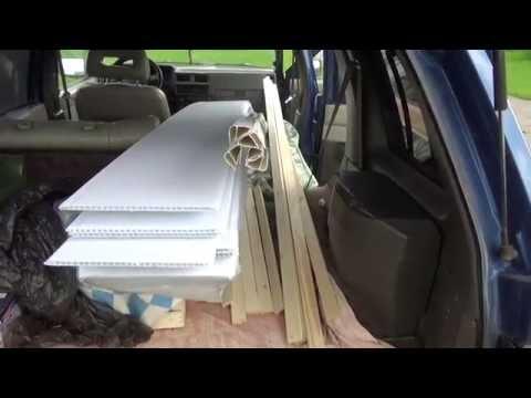 Негабарит в багажнике / Как перевезти крупногабаритный груз на легковой