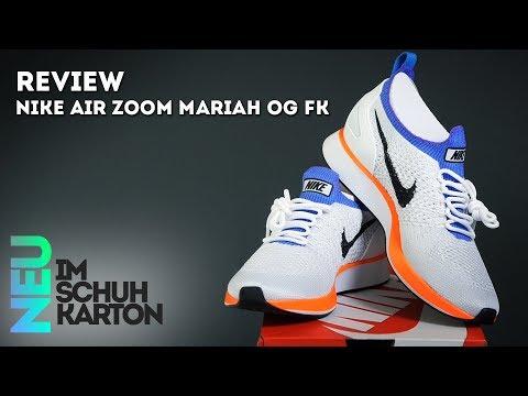 Nike Air Zoom Mariah OG Flyknit | Review