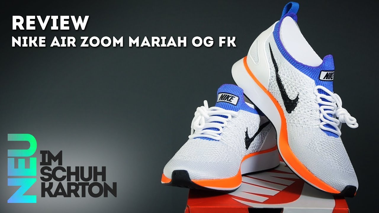 skate shoes free delivery online retailer Nike Air Zoom Mariah OG Flyknit | Review