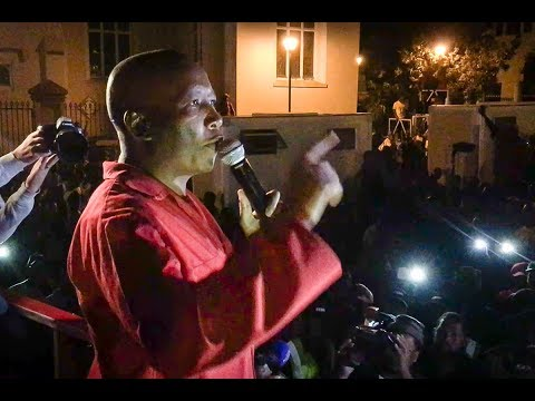 Julius Malema's full speech to supporters after motion of no confidence vote