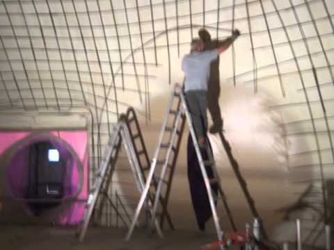 Dome Home Construction Process