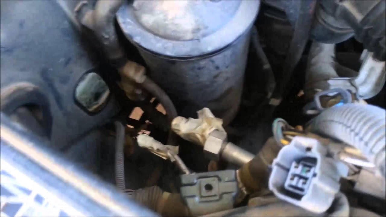 How To Replace The Evaporator Core Expansion Valve On A 1997 Honda Accord Youtube