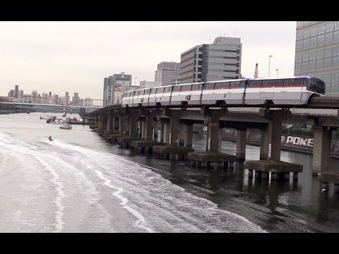 Tokyo Monorail Express Trains 東京モノレール 空港快速