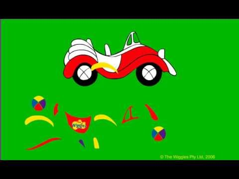 the wiggles big red car build your own game the wiggles show kids games fun