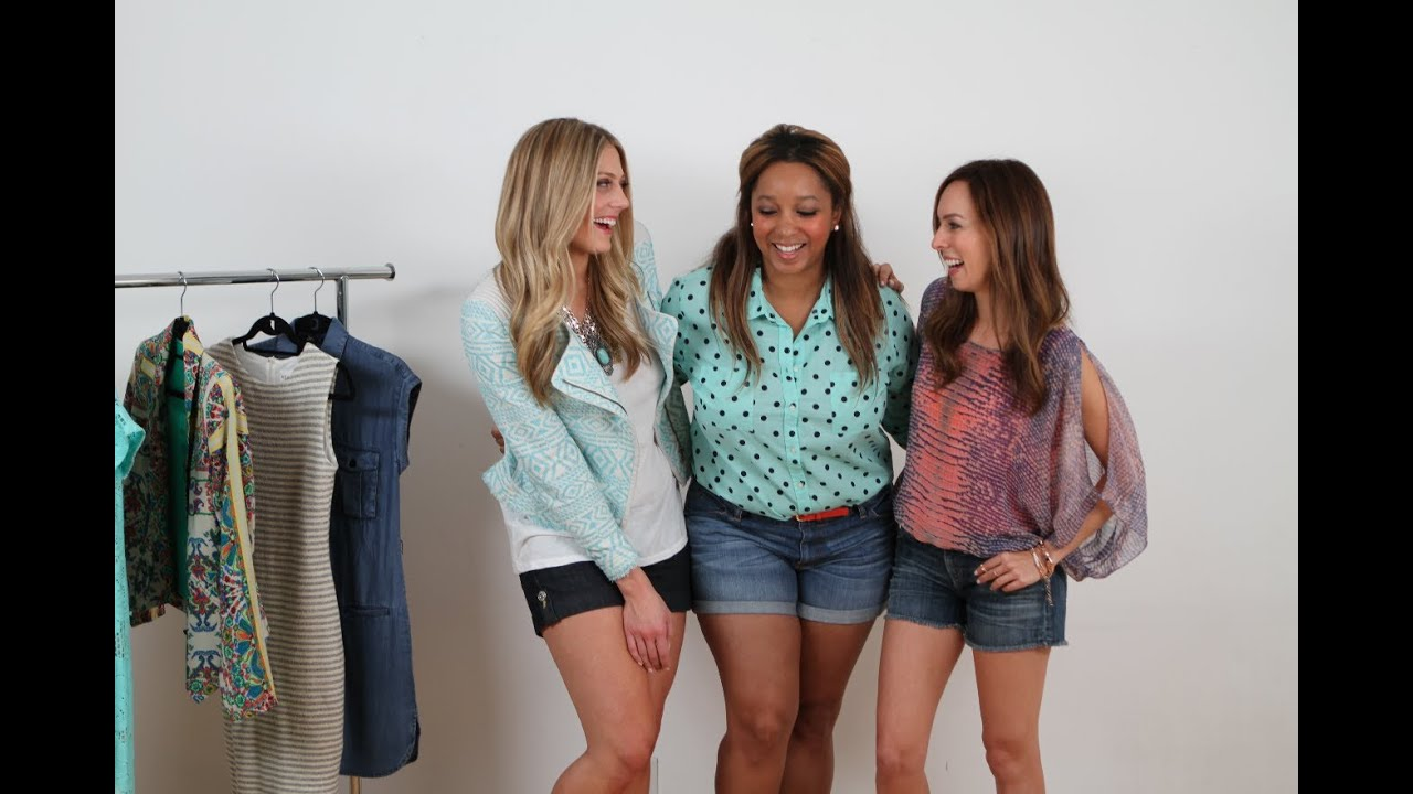 93795e876c Petite & Tall: How To Wear Denim Shorts. Sydne Summer