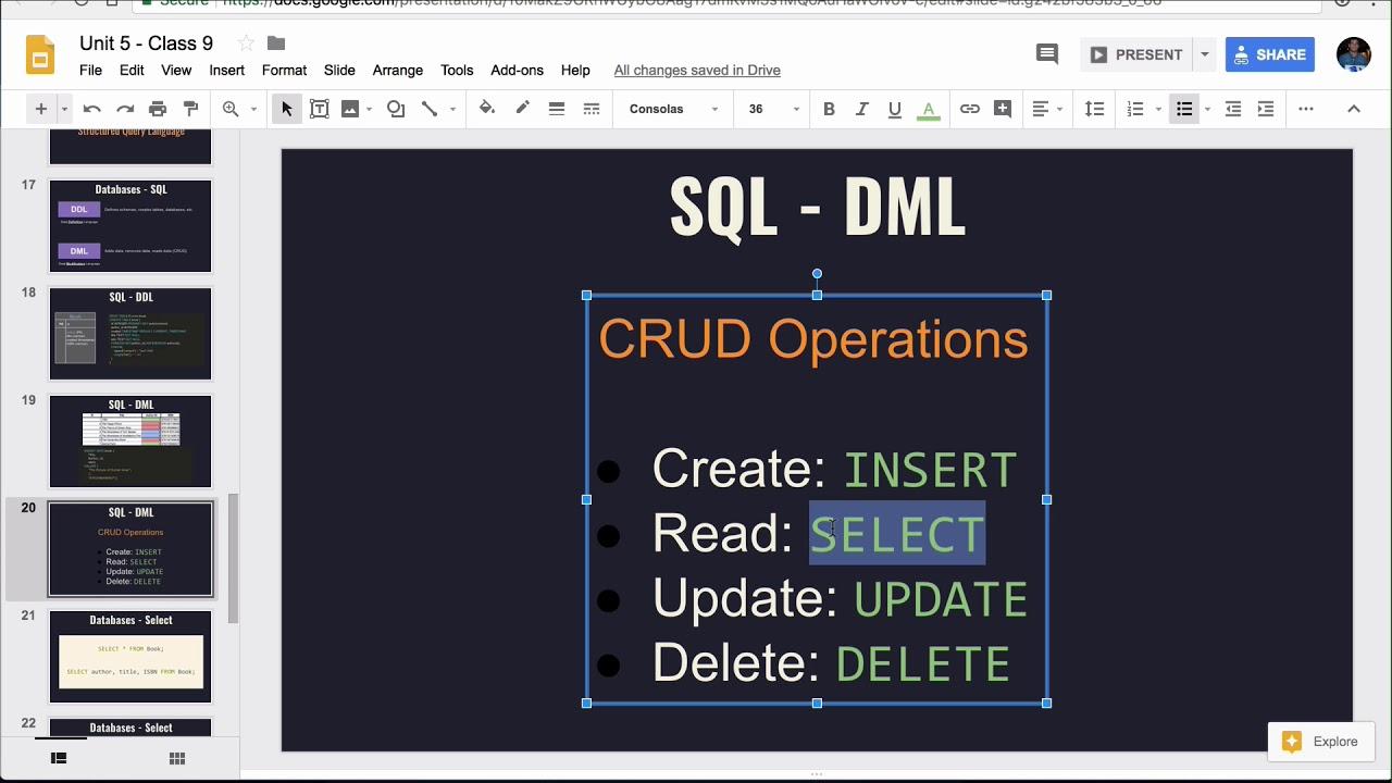 Intro to SQL Lesson - Base Python Track