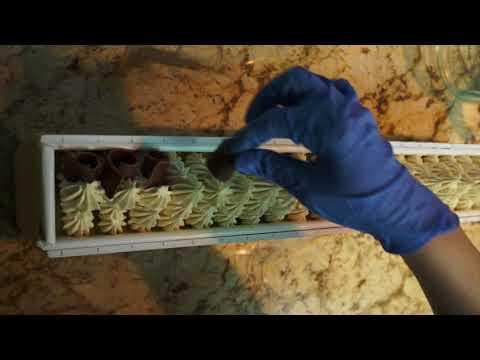 Making And Cutting Mocha Espresso Cold Process Soap