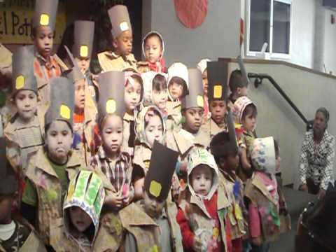 El Potrero Preschool  Thanksgiving song  The Turkey is a Funny Bird