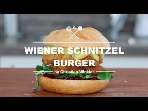 Wiener Schnitzel Burger I M From Austria 1 Weber Master Touch Gbs Premium Youtube