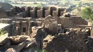 Buddhist Sites in Takht-i-Bahi Mardan Khyber Pukhtoon Khwa,Pakistan UNESCO World Heritage List