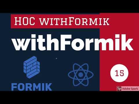 React Formik withFormik HOC #17