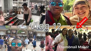 Finishing the Semester   Six Flags   Shopping at Coach & MK   Vlog 12