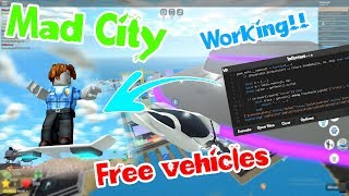 [Roblox] 😱Mad City Free Vehicles script with free level 6 executor!😱 | Working ✔️| Apr 5