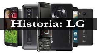 Teléfonos móviles LG | su historia en imágenes (2002 - 2017)