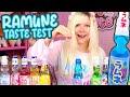 RAMUNE TASTE TEST ☆ Delicious Marble Soda from Japan! | TOFU CUTE TV