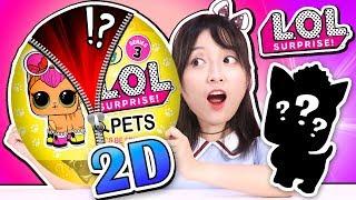 手工做出2D版的LOL驚喜娃娃拆拆樂啦!小伶玩具 | Xiaoling toys