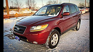 2008 Hyundai Sante Fe GLS 3.3L AWD Review