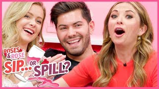 Roses & Rose: Hannah Godwin & Dylan Barbour REVEAL Bachelor Relationship Secrets | Sip or Spill