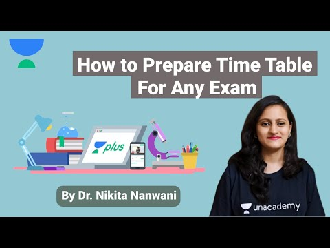 how-to-prepare-time-table-for-any-exam-by-dr-nikita-nanwani