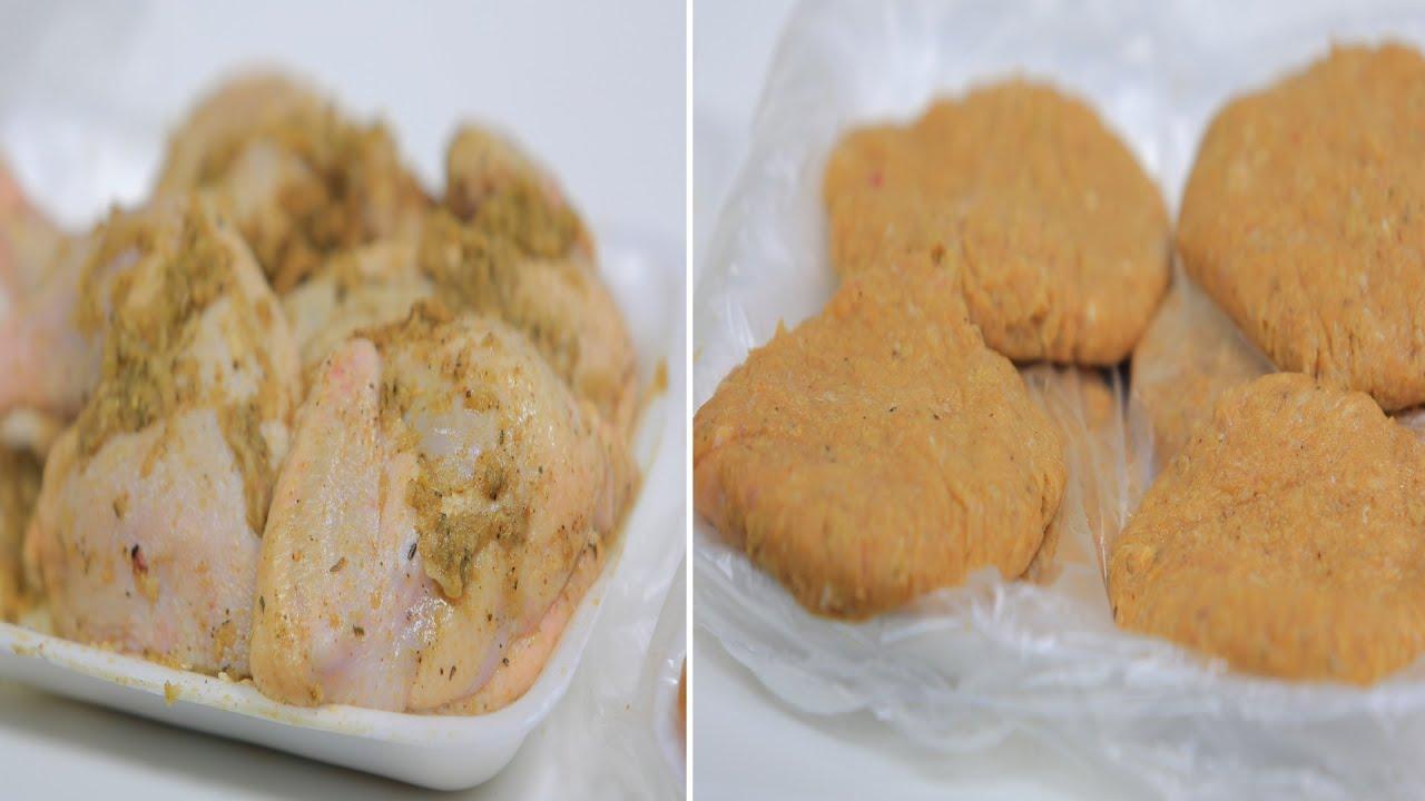 برجر دجاج - تتبيلة أوراك دجاج صينية - تتبيلة دجاج للشوي - شاورما دجاج : على قد الإيد حلقة كاملة